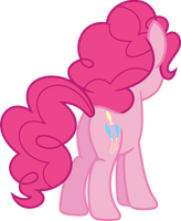 Pinkies cute tush by Porygon2z