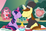 A magical date by Porygon2z