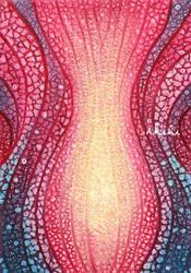Stream of Life  (Scarlet memory) by Akihi