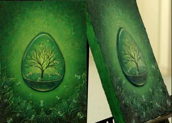 Tree of purification #green by Akihi