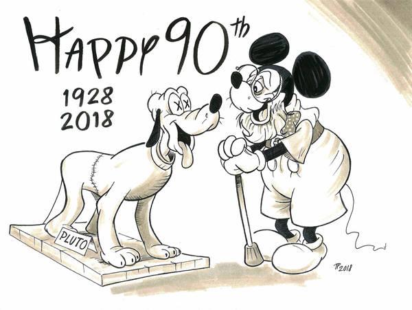 Mickey39s 90th Birthday By Snipetracker On DeviantArt