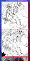 Kid Flash Step By Step by AdmiraWijaya