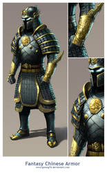 Fantasy Chinese Armor by AdmiraWijaya