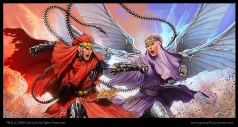 Girl Fight Wallpaper by AdmiraWijaya