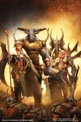 Four Horsemen by AdmiraWijaya