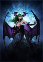 MORRIGAN Colored by AdmiraWijaya