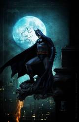 BATMAN SOLITUDE by AdmiraWijaya