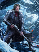The Wolf hunter by AdmiraWijaya