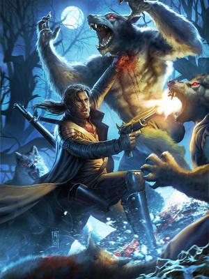 The Wolf hunter II by AdmiraWijaya