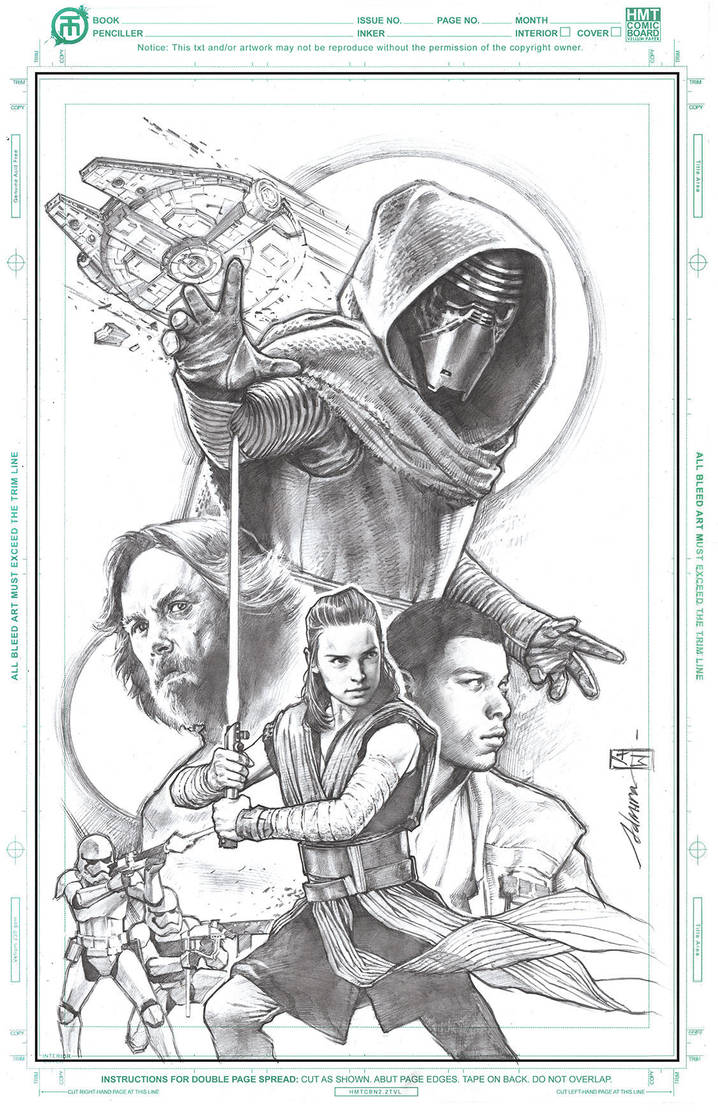 The-Last-Jedi-Tribute by AdmiraWijaya