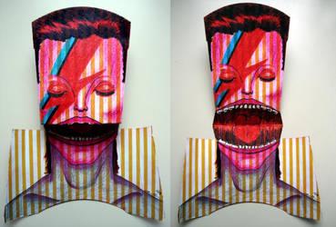 Ziggy Stardust Aladdin Sane by WerterSkelterNOW