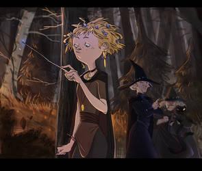 Magic wand by Ne-sy
