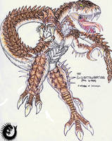 The Rhedosaurus Legacy: G-Rex by Kaptain-Kefiah