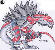 The R. Legacy: Wraithzilla by Kaptain-Kefiah