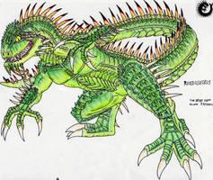 The Legacy Chief: Rhedosaurus by Kaptain-Kefiah
