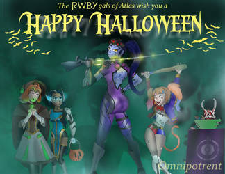 RWBY Halloween: Atlas Ho Down by Omnipotrent