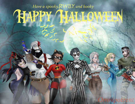 RWBY Halloween: A Gaggle of Ghoulish Grown Ups by Omnipotrent