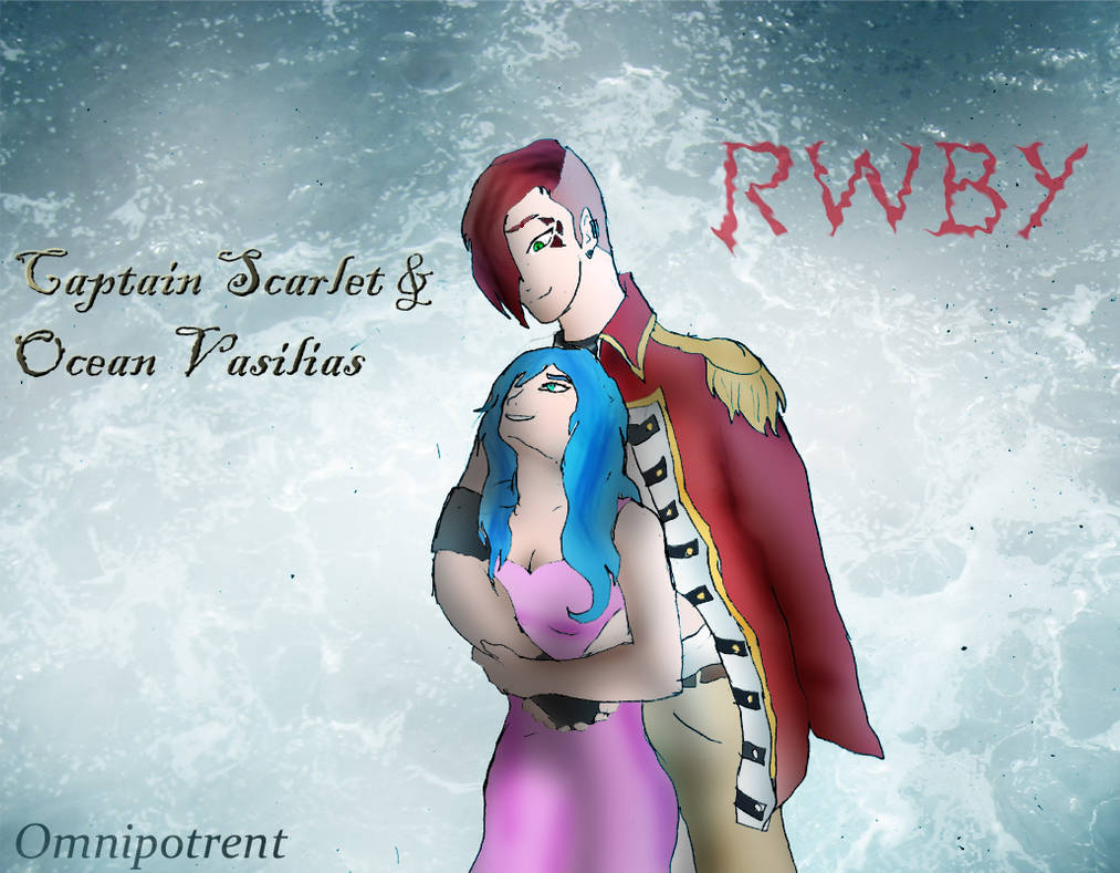 Rwby Commission: Scarlet x Ocean by Omnipotrent