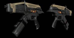 Salier P4 Submachine Gun by AStepIntoOblivion