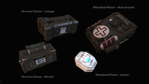 Ammo Cases and Medical Packs by AStepIntoOblivion