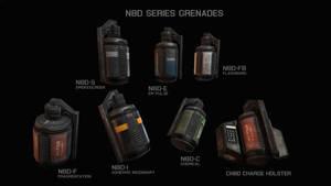 N8D Series Grenades by AStepIntoOblivion