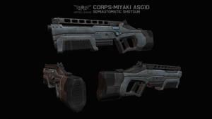 ULA Corps-Miyaki ASG10 Shotgun by AStepIntoOblivion