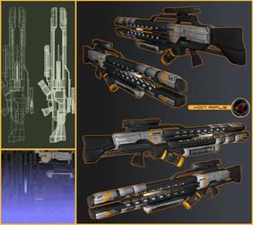 Xon Rifle by AStepIntoOblivion