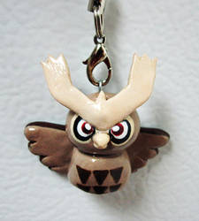 Noctowl Totem Charm by caffwin