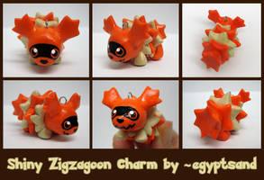Shiny Zigzagoon Charm by caffwin