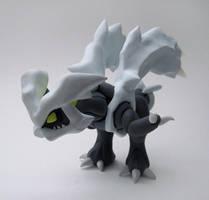 Kyurem Sculpture by caffwin