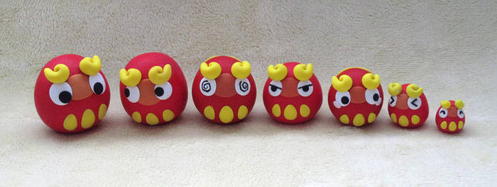 Darumaka Tumbler Doll Set by caffwin