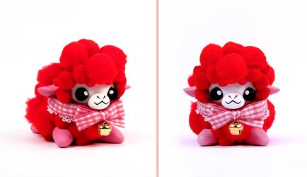 Valentine's Day Alpaca by caffwin