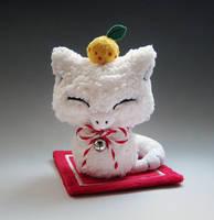 Abra Kagamimochi Plush by caffwin