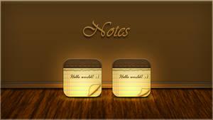 Genesis  WIP Notes icons by JackieTran