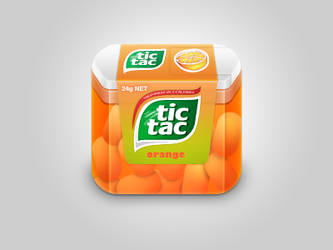 Tic Tac icon by JackieTran