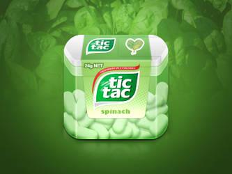 Tic-Tac Spinach Box by JackieTran