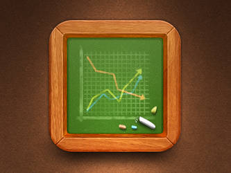 Stocks icon by JackieTran