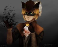 Hunter Chat Noir by Mikan-bases