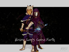 Dark Souls x Avatar by Mikan-bases