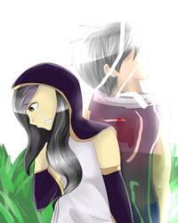 (Irene and Shad) Broken Pieces by Ghostfinder101