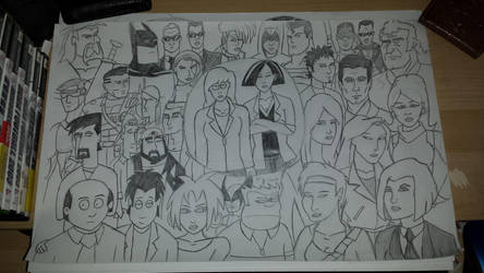 Characters from Shows, Films and Games that I like by JimmyTwoTimes2K9