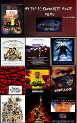 My Top 10 Universal Studios films by JimmyTwoTimes2K9