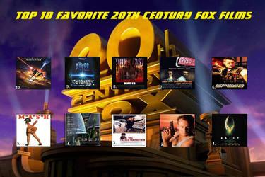 My Top 10 Fox films (RECREATION) by JimmyTwoTimes2K9