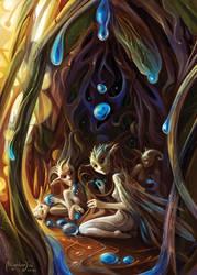 Blue Seeds by Aledin