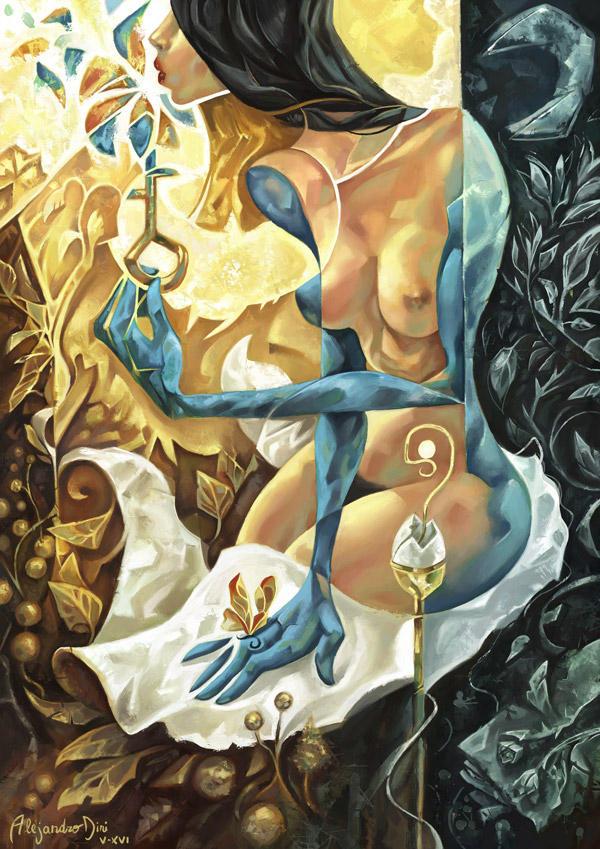 Lady of the Key by Aledin