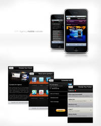 CYF Agency - Mobile website by miko434