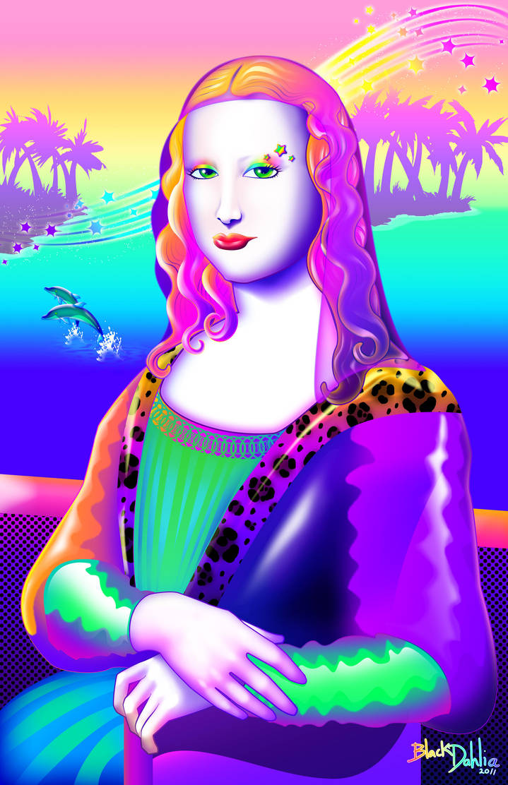 Mona Lisa Frank by blackdahlia
