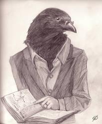 Professor Corn by blackdahlia