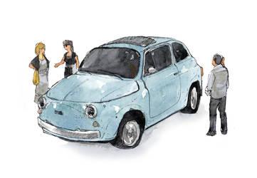 Fiat 500 by Laurlolz