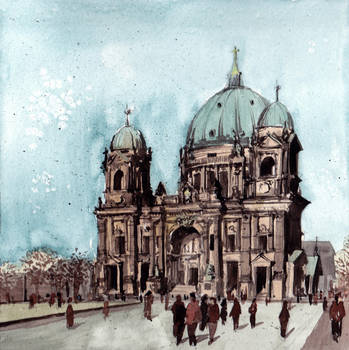 Berliner Dom 3 by Laurlolz